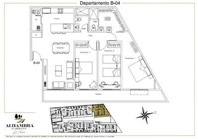 APARTADO B04-CLUB - $4,200,000 (3Rec-110m2+Tza12m2-Nivel PB-Terraza)