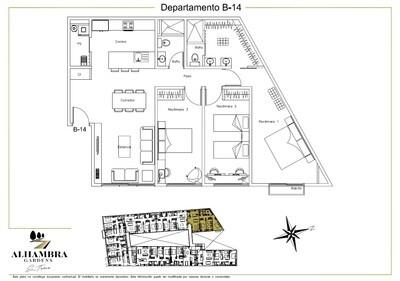 APARTADO B14-CLUB - $4,000,000 (3Rec-111m2-Nivel 1-RG)