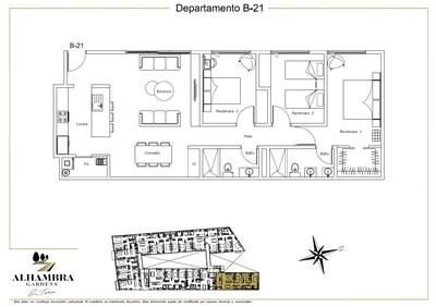 APARTADO B21-CLUB - $4,200,000 (3Rec-110m2-Nivel 2-RG)