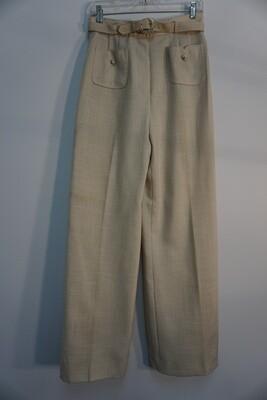 Beige Linen Pants Size 12