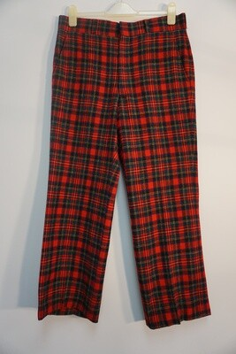 Pendleton Plaid Trousers Size 35