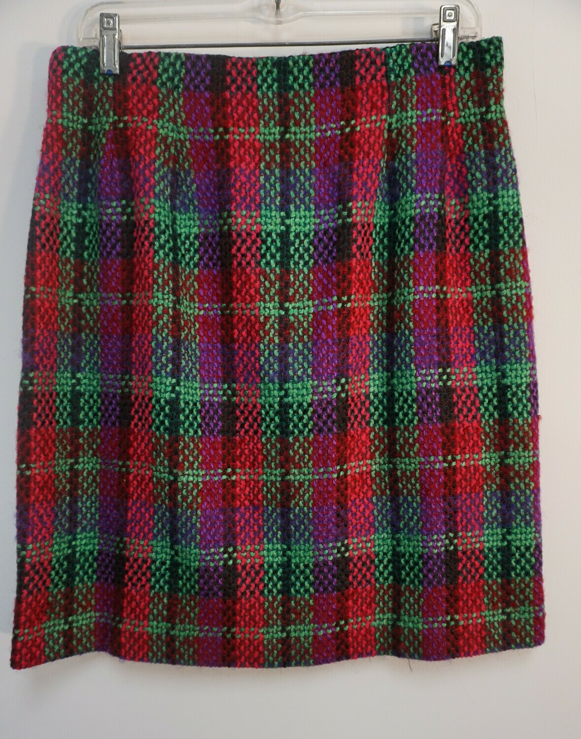 Neiman Marcus Plaid Skirt Size 14