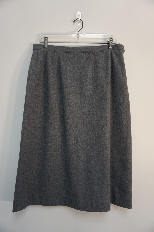 Gray Pendleton Skirt Size Large