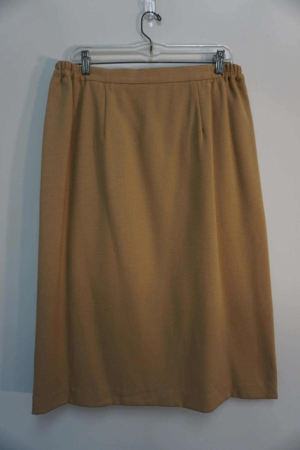 Tan Skirt Size 18