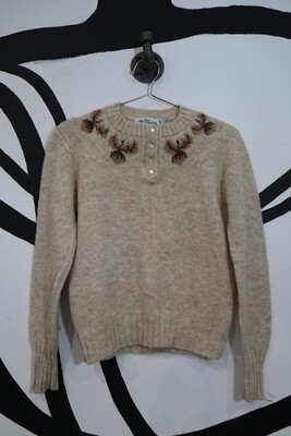 Shetland Wool Sweater - Women's Small