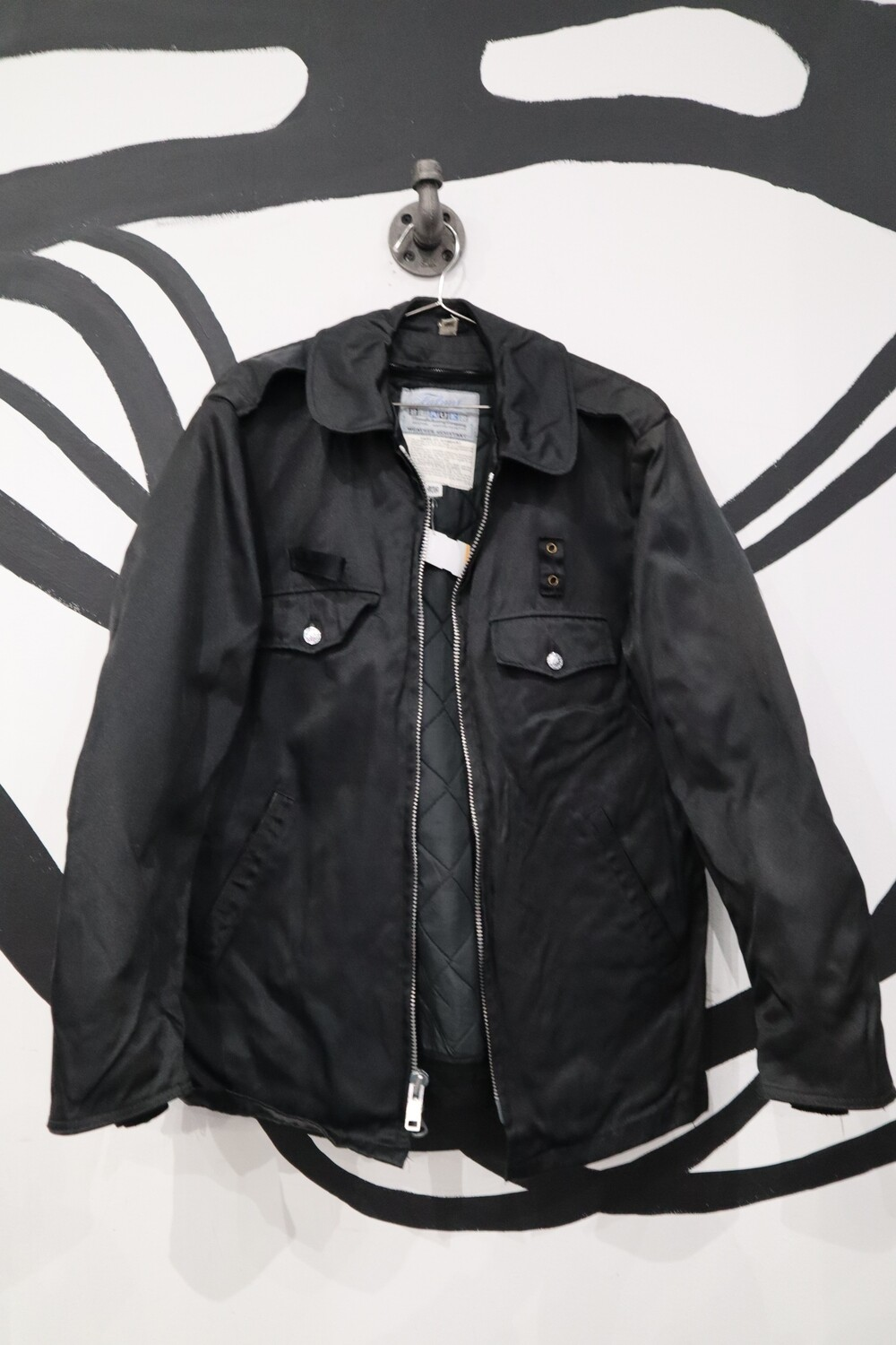 Police Issue Lined Nylon Jacket - Men's 40R