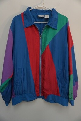 Blair Silk Windbreaker Size XLG