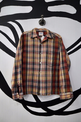 Plaid Button Up Shirt - Men's Size Medium