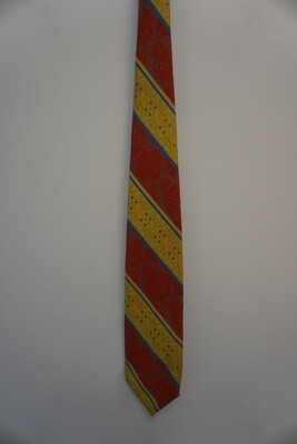 Red Yellow And Blue Tie