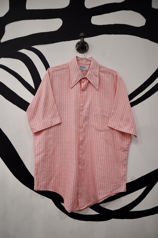 Pink Striped Button Up - Men's Medium