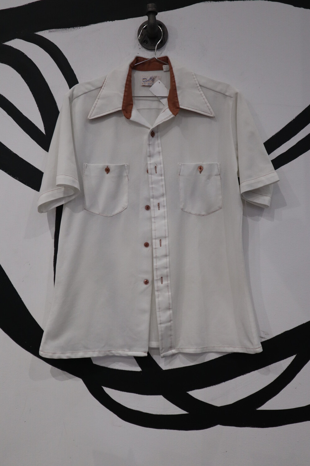 Double Exposure Button Down- Men's Small