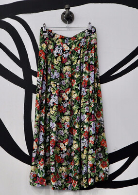 Floral Skirt - Women's Size 8
