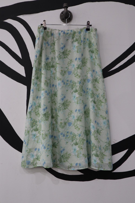 Laura Scott Floral Skirt- 6/8