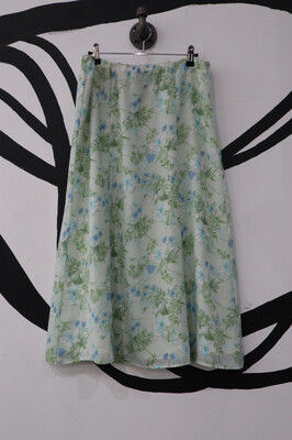 Laura Scott Floral Skirt- 6/8