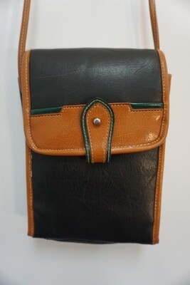 Open front purse