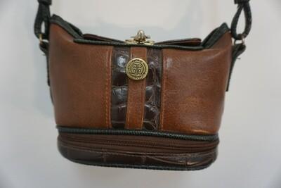 Small brown purse