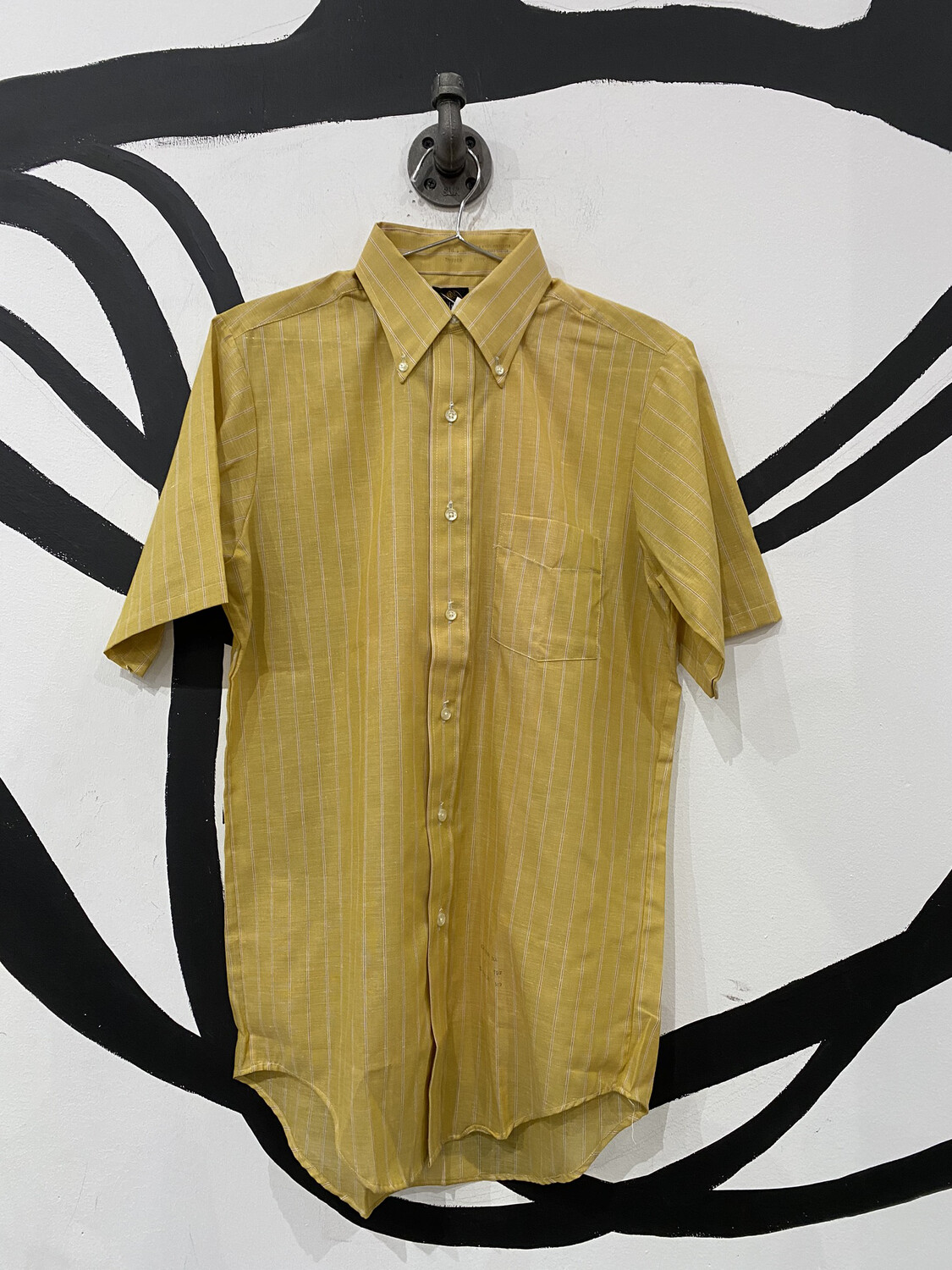 Lightweight Striped Button Up - Men's S