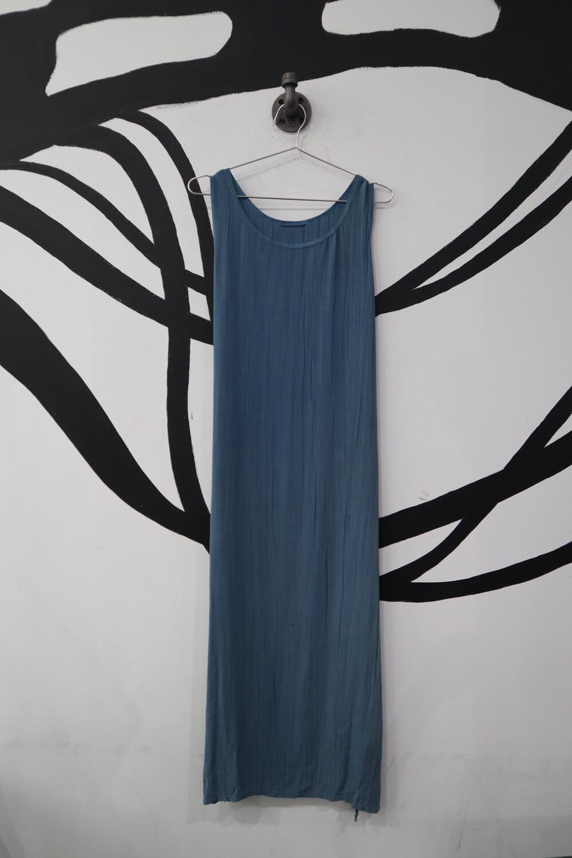 Cool Blue Maxi Dress