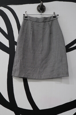 Houndstooth Skirt- Small