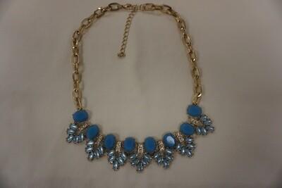 Faux gem necklace