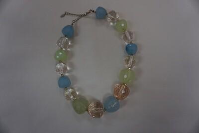 Soft Pastel bead necklace