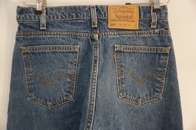 Levis 505 Orange Tab Jeans 32 X 30 Made In The USA