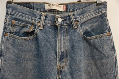 Levis 550 Relaxed Fit Jeans Size 31 X 30.5