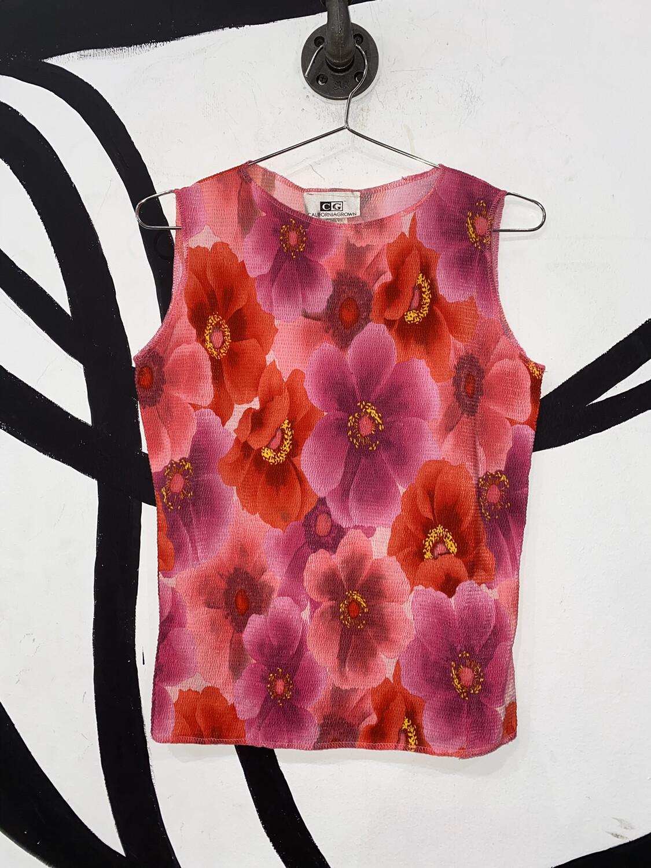 Floral Top Size M