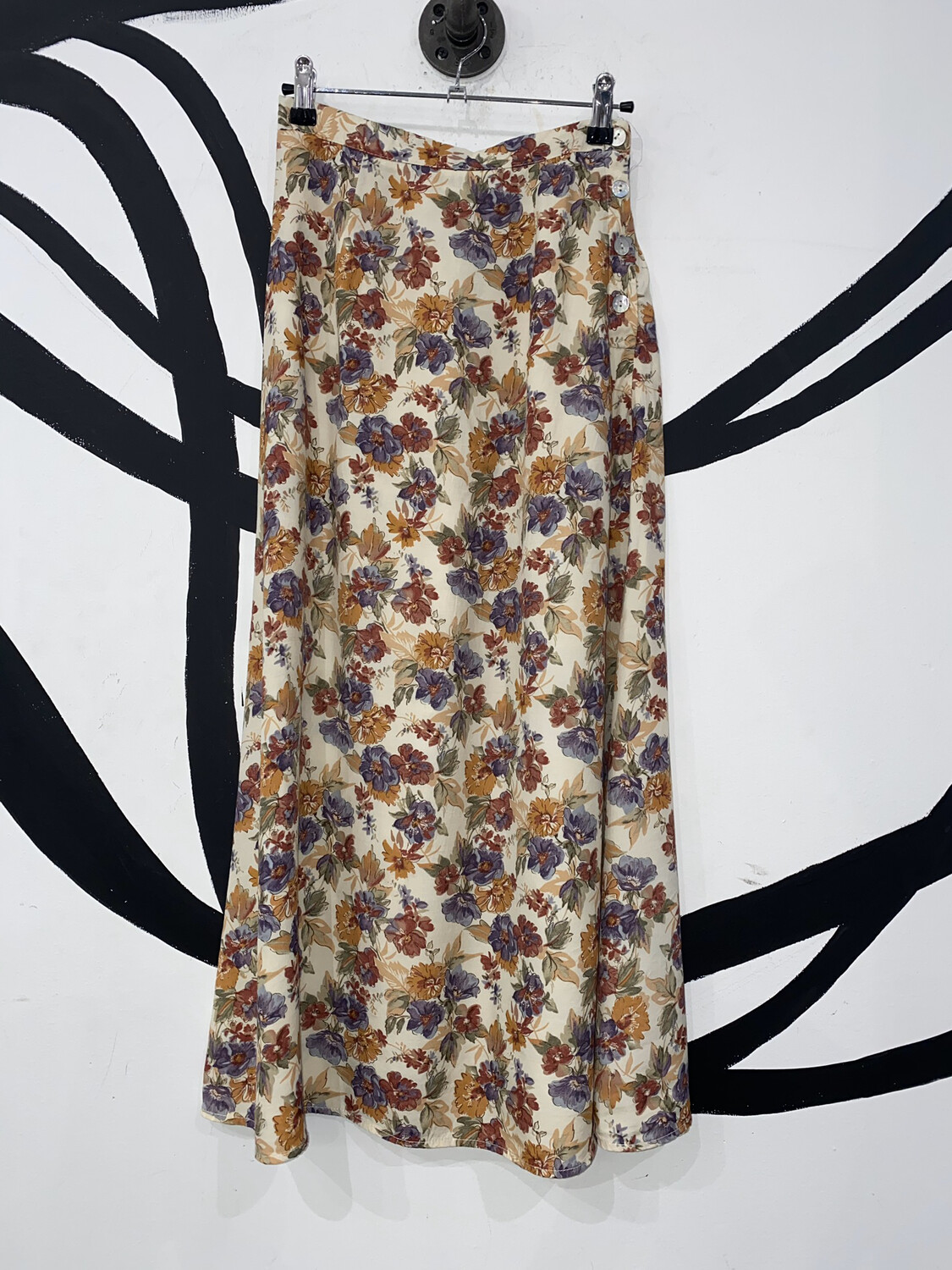 Floral Skirt Size S
