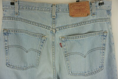 Levi's 560 Jeans Size 36 X 32.5 Made In The USA