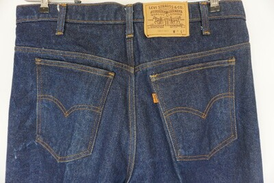 Levi's Orange Tab Jeans Size 36 X 31 Made In The USA