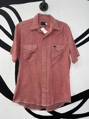 Women's Wrangler Button Up Blouse Size M
