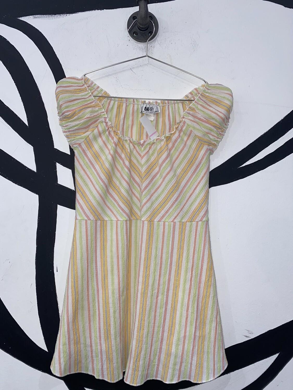Women's Pastel Striped Blouse