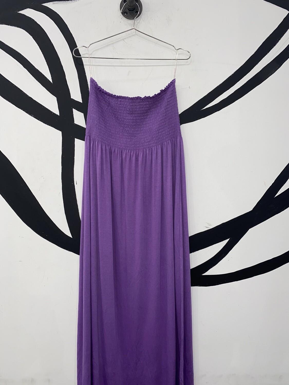 Women's Stretch Maxi Dress-Size XL