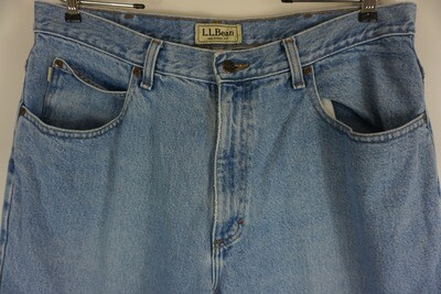 LL Bean Jeans Size 36 X 31