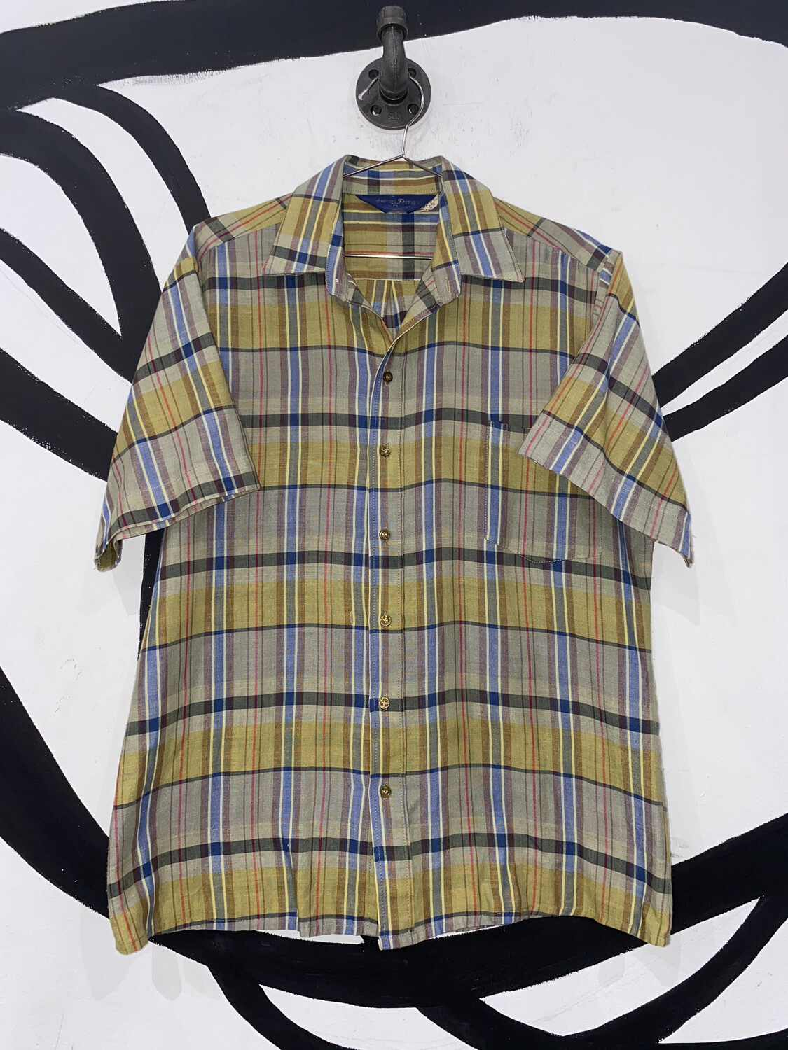 Gianni Ferrucci Button Up Size M