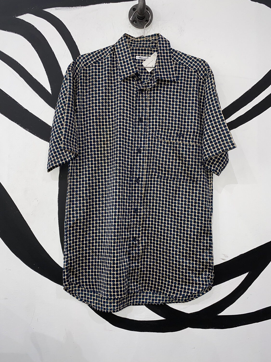 Mazzarelli Button Up Size M
