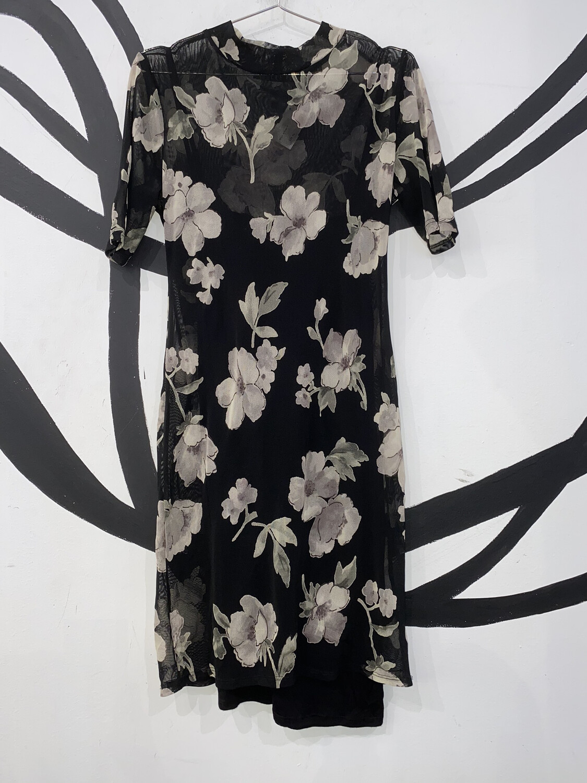 Mesh Layered Dress Size S