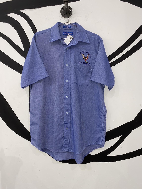Tropical Island Denim Shirt Size M