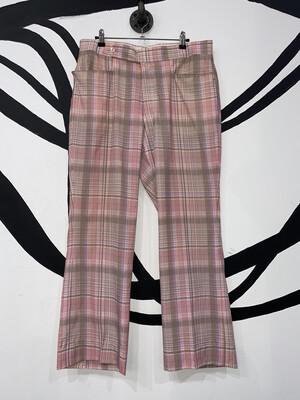 Di Fini Plaid Pants Size L