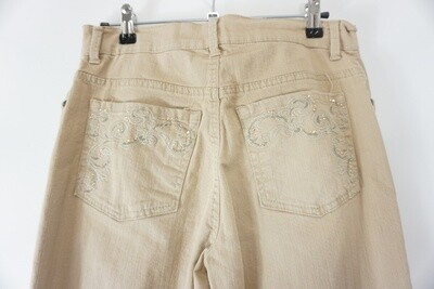 Gloria Vanderbilt Tan Jeans Size 6