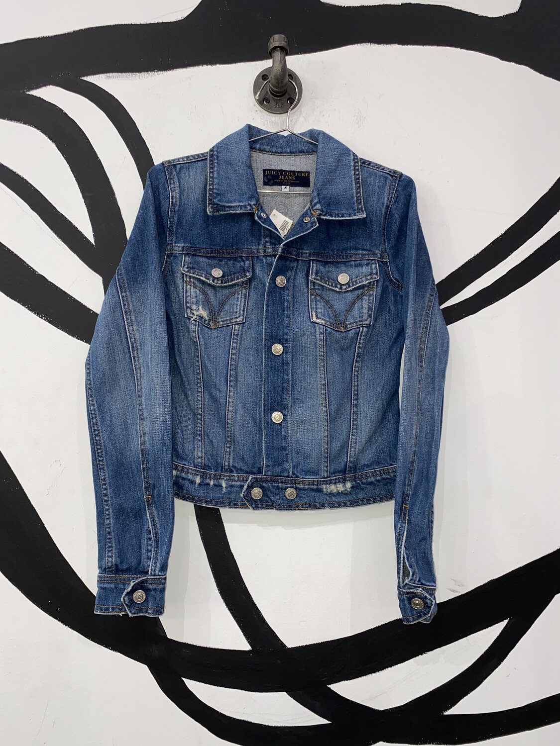 Juicy Couture Jean Jacket Size S
