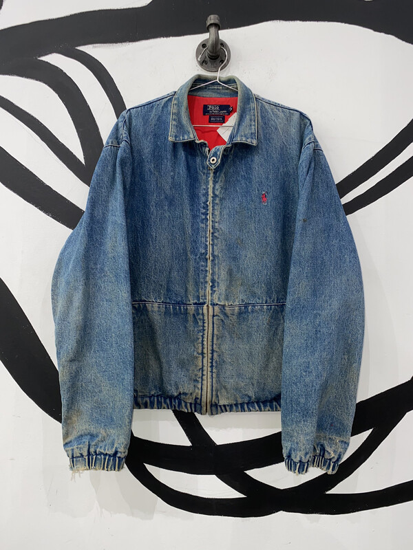 Polo Jean Jacket Size M