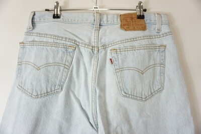 Levi's 501 Jeans 36 X 28.5 Made In The USA