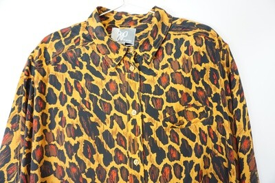 Cheetah Print Blouse Size 22/24