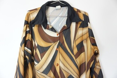 L.A. 405 Abstract Blouse Size 1X
