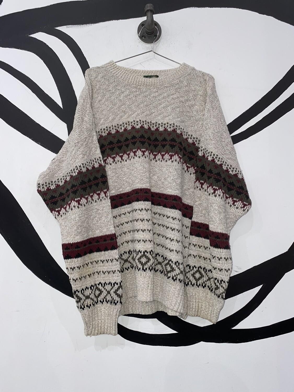 Knit Network Sweater Size XL