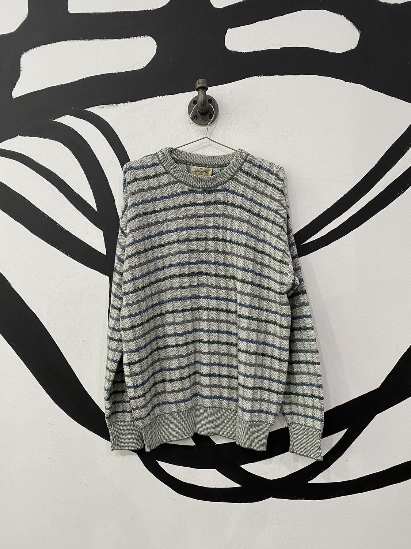Checkered St. John's Bay Sweater Size M