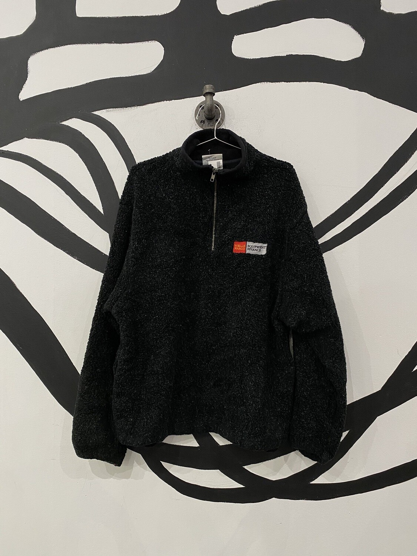 Fleece Wells Fargo Quarter Zip Jacket Size M