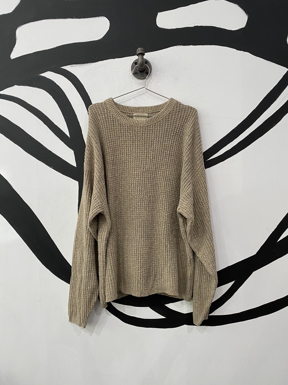 Tan St John's Bay Sweater Size L